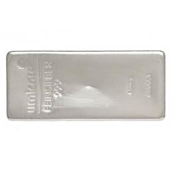 5000 Gramm Silberbarren gegossen